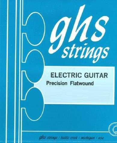 GHS Flatwound E-Guitar Set 900