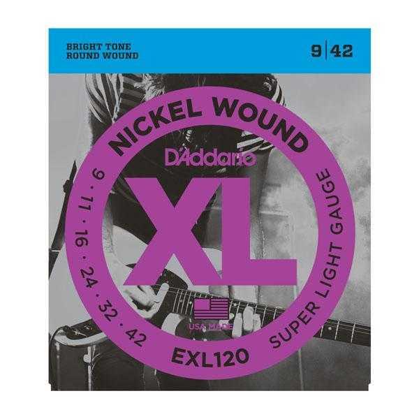 D'Addario EXL120 für E-Gitarre