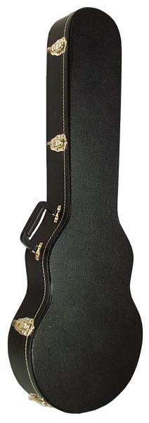 SCC Gitarrenkoffer LP schwarz flat