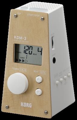 Korg KDM-3 WWH Metronom weiß / Ahorn Sondermodell