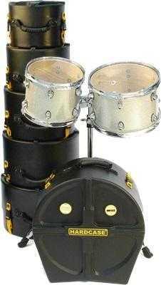 Etui Schlagzeug Hardcase Tom 10