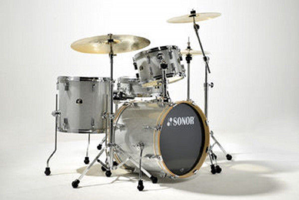 Sonor SSE 12 Bop 4-pc SP CL Silver Galaxy Sparkle
