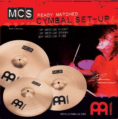Meinl MCS Becken-Set 3-teilig