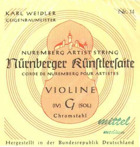 Nürnberger Künstlersaite Violine 4/4