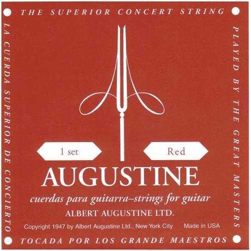 Augustine rot E6 Saite für Konzertgitarre