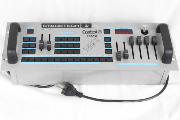 Stagetech Control 8 DMX f. Basic Scan