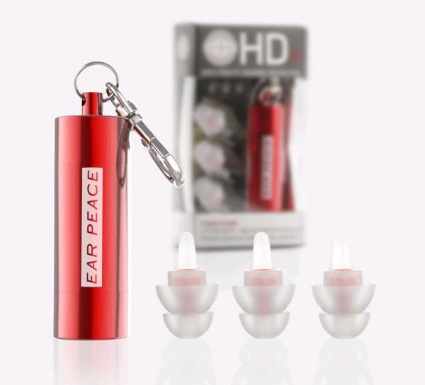 EarPeace HD EarPlugs red