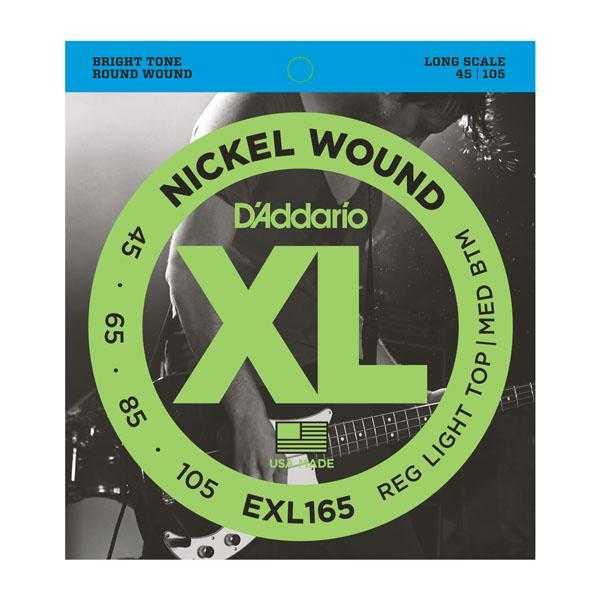 D'Addario EXL165 für E-Bass