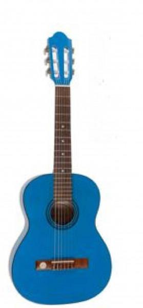 VGS Konzertgitarre Pro Natura Colour Series 3/4 Blau