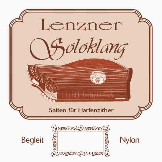 Lenzner Zither Soloklang Griff Satz
