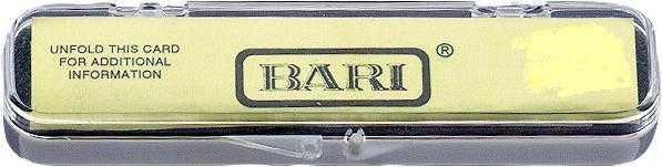 BARI Klarinettenblatt Med.