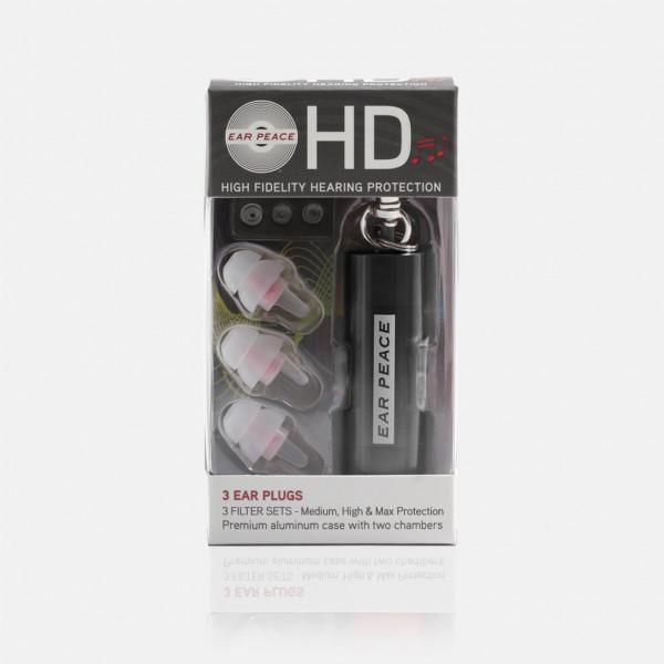 EarPeace HD EarPlugs black