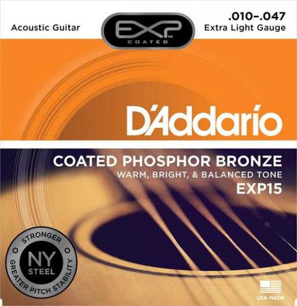D'Addario EXP15 für Westerngitarre
