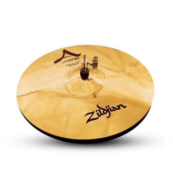 Zildjian A Custom Hi Hat Brilliant 14